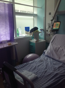 Labour ward at UCLH